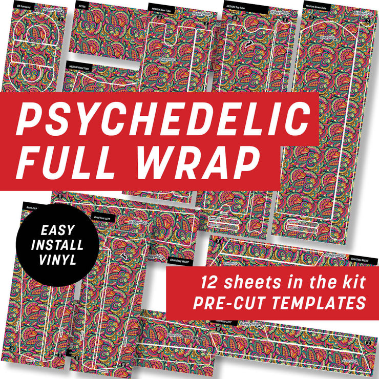 Psychedelic Full Wrap Kit