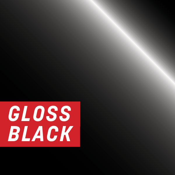 Gloss Black Half Wrap Kit