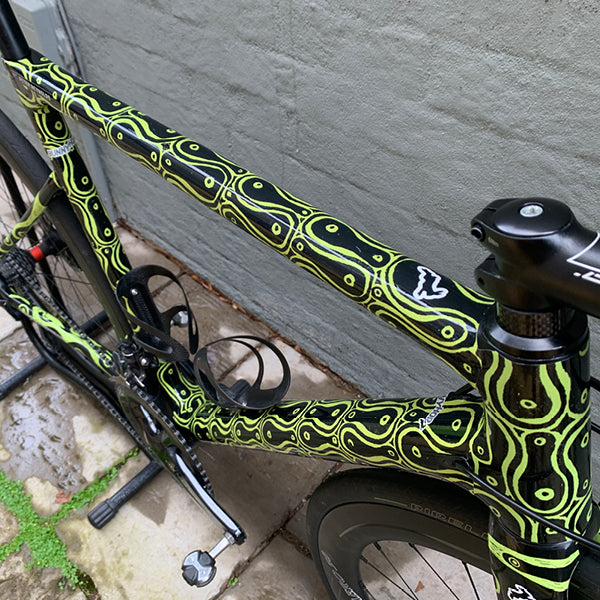 Cycology Linked In Lime Full Wrap Kit