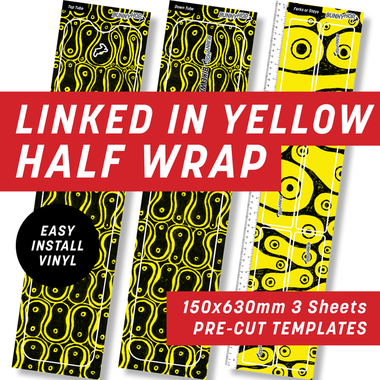Cycology Linked In Yellow Half Wrap Kit