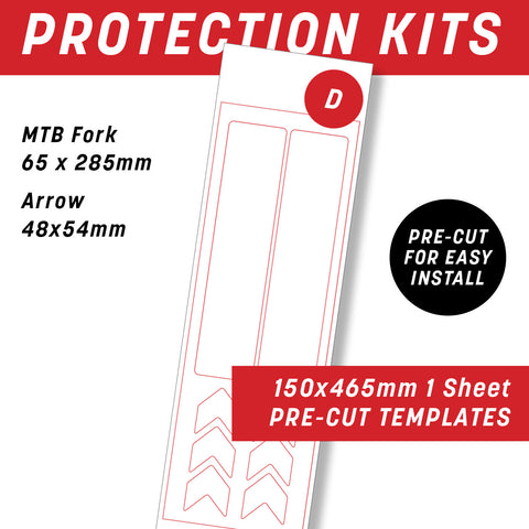 D - Individual Bike frame protection kit
