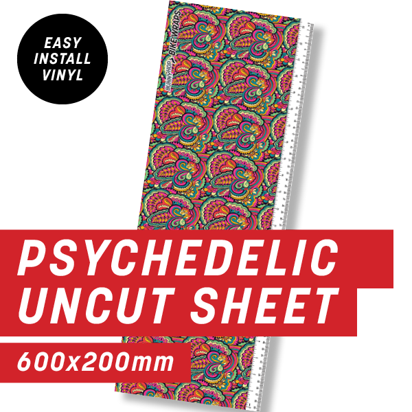 Psychedelic Uncut Sheet