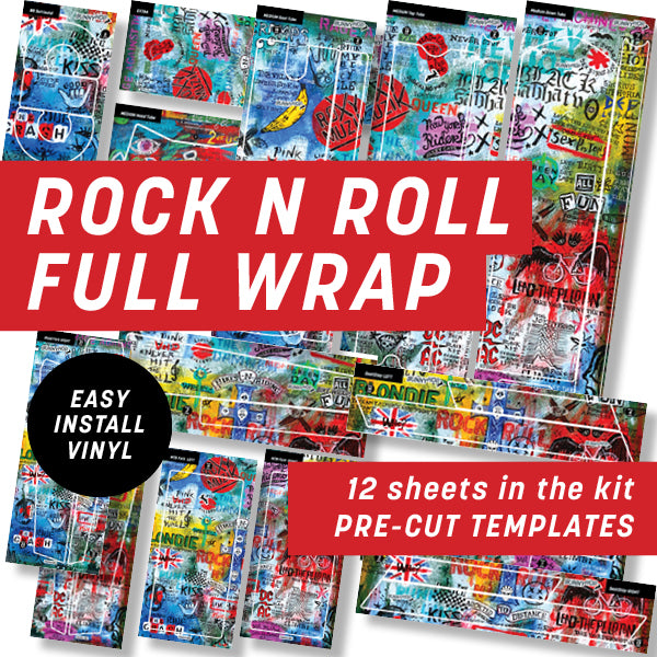 Cycology Rock N Roll Full Wrap Kit