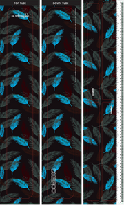 DHaRCO Wrap | Atoll Leaves Print