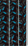 Dharco frame wrap | Atoll leaves Print