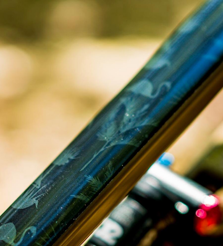 dharco frame wrap | Kyle Strait Rampage signature edition