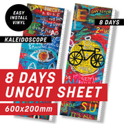 Cycology 8 Days Uncut Sheet