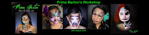 Prima Barton's Workshop Melbourne 29th August 2018 at The Looney Bin.