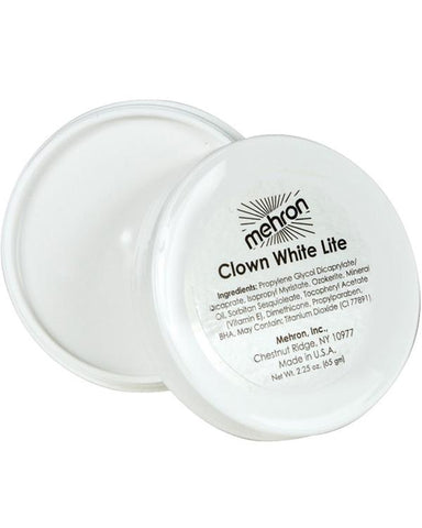 Mehron - Clown Lite - White