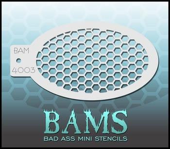 BAM Stencil 4003 Honeycomb - Looney Bin Products