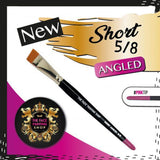 The Face Painting Shop UK Short Angle Brushes - Looney Bin Products
