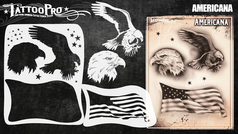 Wiser Tattoo Pro - Americana - Looney Bin Products