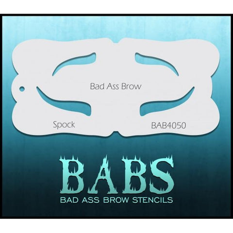 BABS Eyebrow Stencil - Spock - 4050 - Looney Bin Products