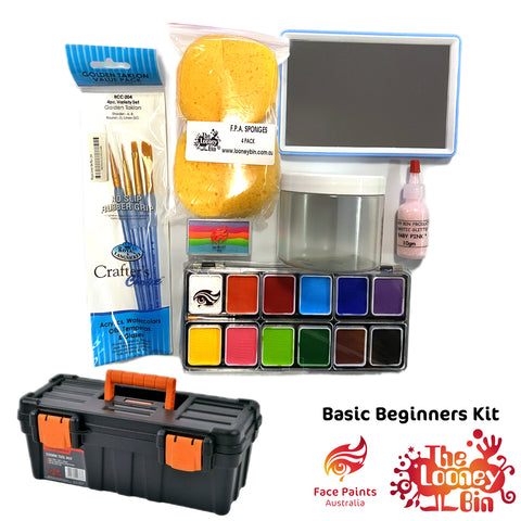Basic Beginners Face Paint Kit - Looney Bin Products