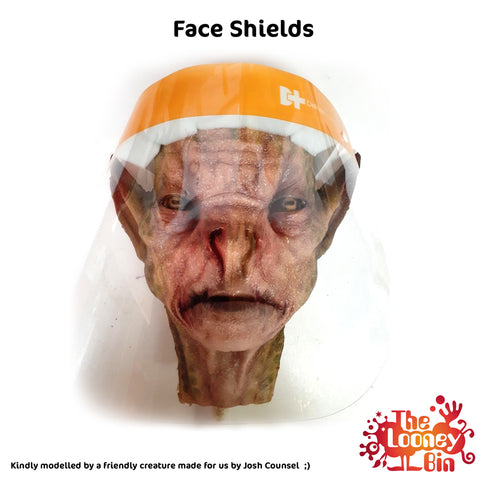 Clear Face Shield - Looney Bin Products