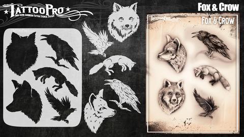Wiser Tattoo Pro - Fox and Crow - Looney Bin Products