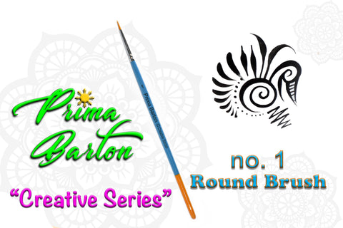 Prima Barton Brushes<br />Round 1 - Looney Bin Products