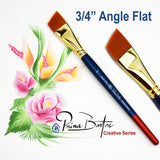 "Prima Barton Brushes<br />NEW 3/4"" Angle - Looney Bin Products"