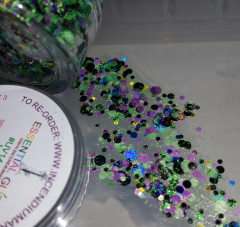 Essential Glitter Balm - UV VIPER - Looney Bin Products