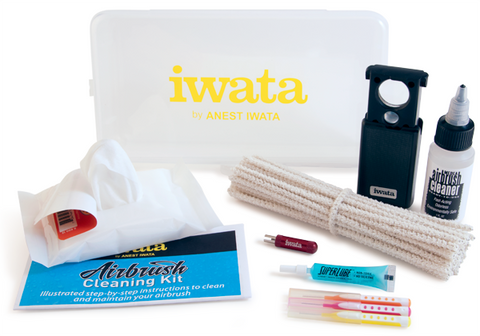 IWATA Airbrush Cleaning Kit - Looney Bin Products