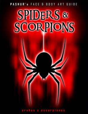 Pashur's Face & Body Art Guide - Spiders & Scorpions - Looney Bin Products