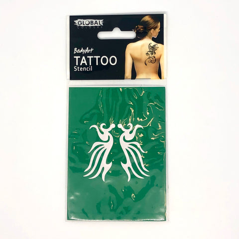 Global Tattoo Stencil TS33 Tribal - Looney Bin Products