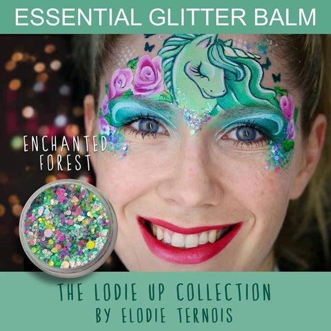 Essential Glitter Balm - ENCHANTED FOREST - Looney Bin Products