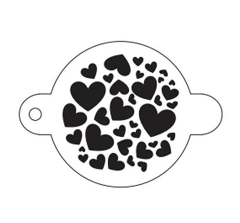 TAP Face Painting Stencil 058 Sweet Hearts - Looney Bin Products