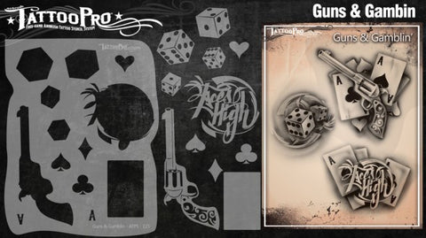 Wiser Tattoo Pro - Guns & Gamblin - Looney Bin Products