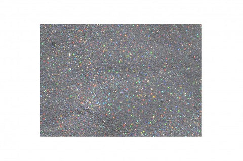 Glitter Poofer - Holographic Silver - Looney Bin Products