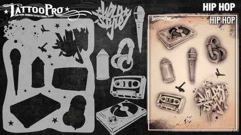 Wiser Tattoo Pro - Hip Hop - Looney Bin Products