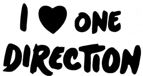 One Direction - I Love - Looney Bin Products