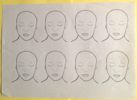 Practice Sheet - 8 Faces - Looney Bin Products