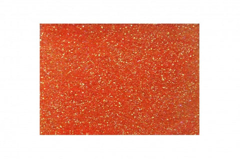 Glitter - Electric Orange<br>Fine cosmetic grade<br>Loose