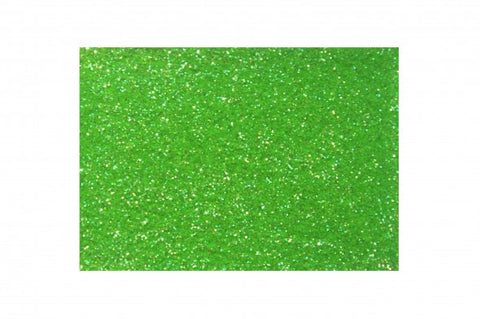 Glitter - Electric Green<br />Fine cosmetic grade<br />Loose - Looney Bin Products