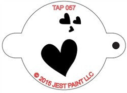 TAP Face Painting Stencil 057 My Valentine - Looney Bin Products