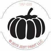 TAP Face Painting Stencil 025 Pumpkin - Looney Bin Products