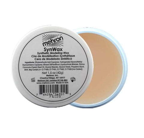 Mehron Syn Wax Cream 1.5oz