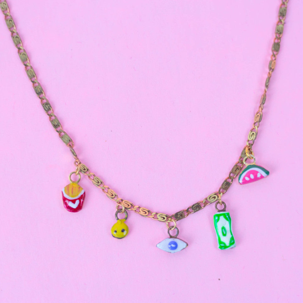 Tiny Toys Necklace