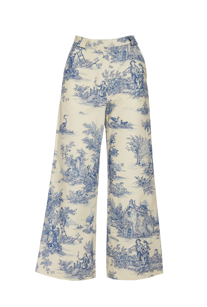 High Waist French Pant