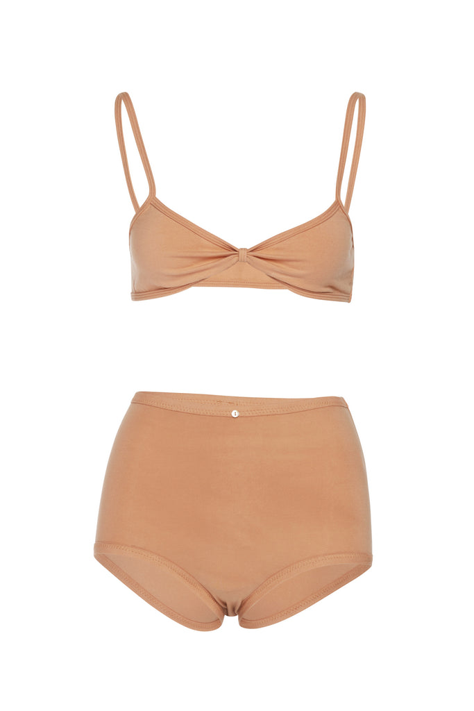 Bra & High Waist Panty Set