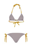 Triangle Bikini with Rose Set