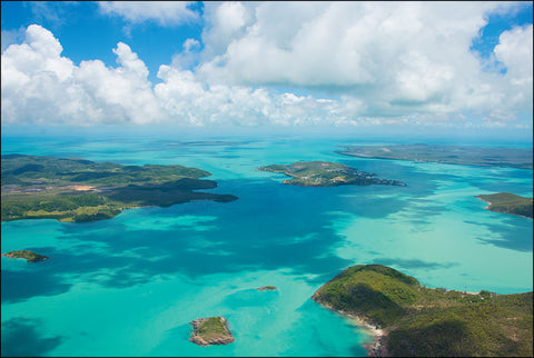 Beautiful blue waters of the Torres Strait Islands from the book 'Let's Learn about the Torres Strait Isalnds'