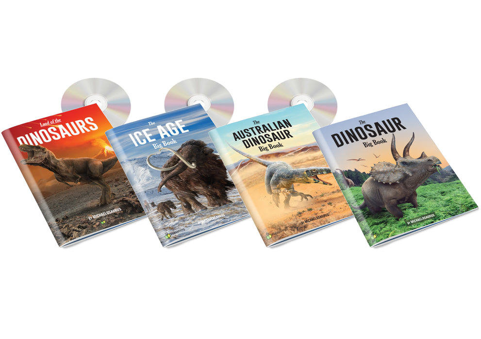 Paleo Big Book Set of 4