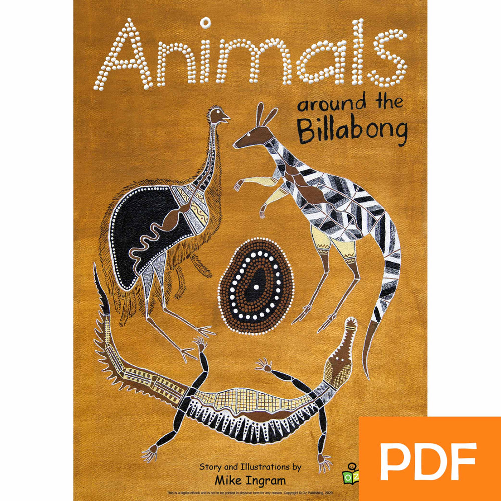 Animals around the billabong eBook