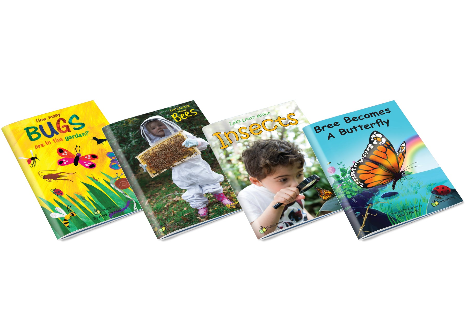 Bugs Big Book Set of 4