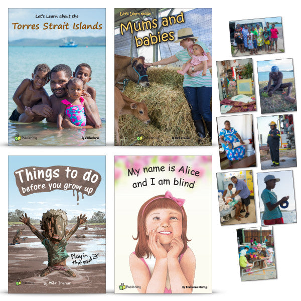 Set of 4 Big Books - With FREE Torres Strait Islands Poster Kit
