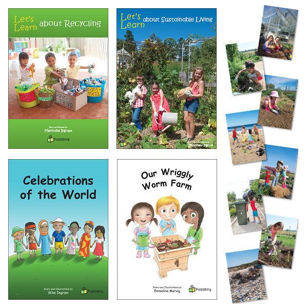 New Happy World Big Book Pack - With FREE 'Caring for our Planet' Poster Kit