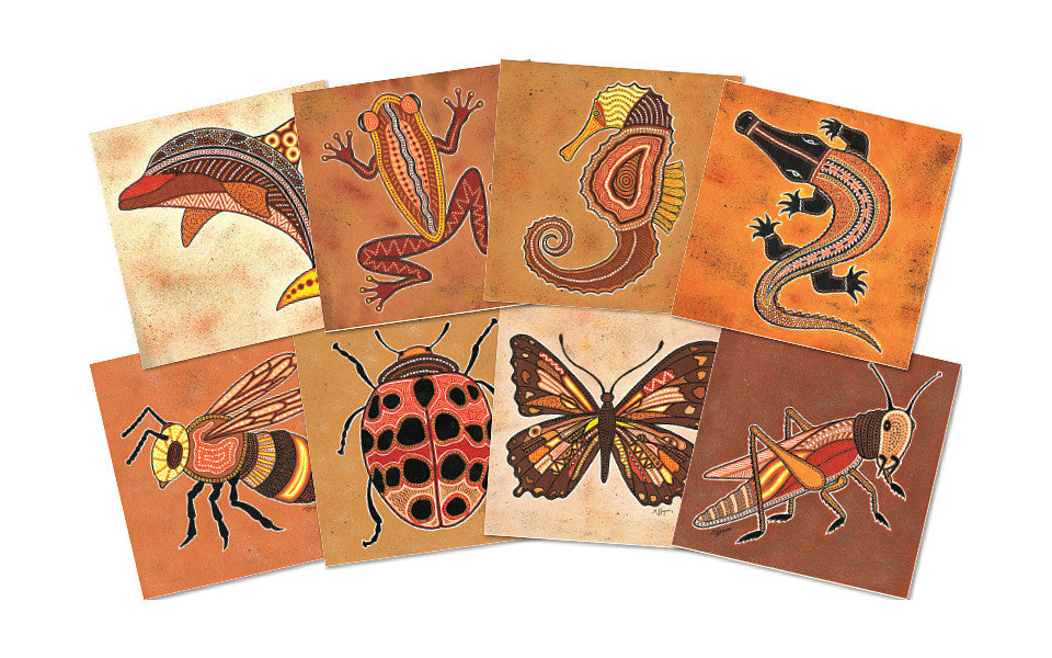 Aboriginal Creatures Poster Kit