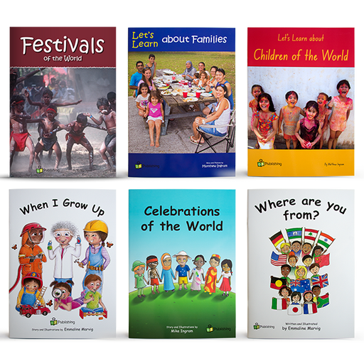 Multicultural Big Book Value Pack of 6